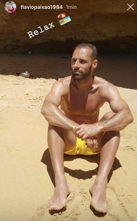 Flavio Paixao wypoczywa w Portugalii.