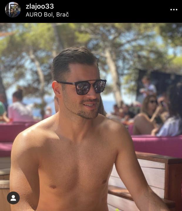 Zlatan Alomerović odpoczywa w Chorwacji.