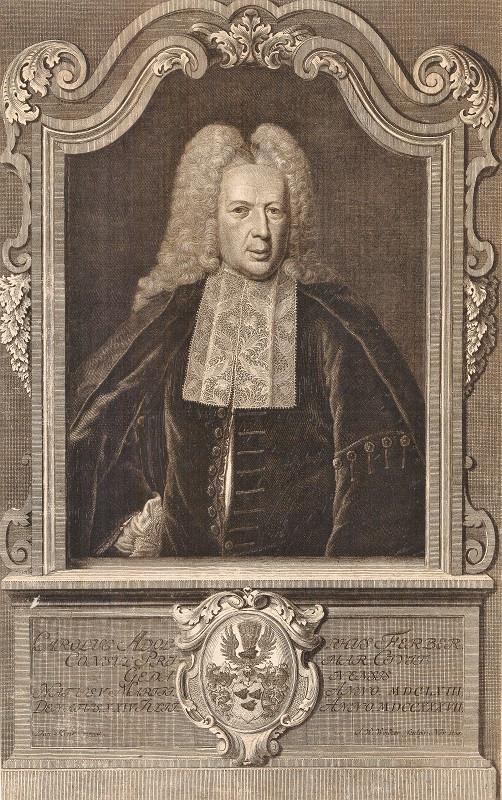 W roku publikacji wspomnień angielskiego dżentelmena z Gdańska burgrabią w mieście był Karl Adolf Ferber (5 III 1663 - 24 VII 1737), ławnik (1708), rajca (1728), burgrabia gdański (1734).