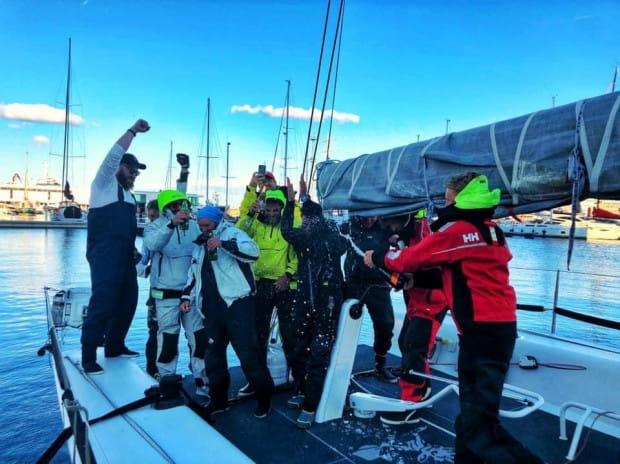 Załoga Scamp Sailing Team pobiła rekord regat Maristo Cup o blisko 20 godzin.