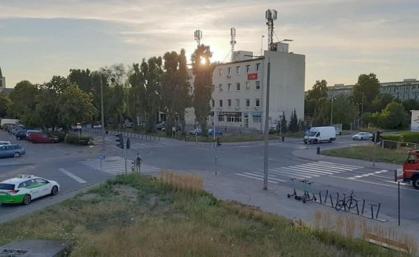 Nowe rondo ma powstać w tym miejscu - na skrzyżowaniu ul. Jagiellońskiej i Prezydenta Lecha Kaczyńskiego.