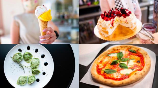 """Dzisiejszy cykl """"Nowe lokale"""" zdominowały Włochy. Będzie dużo włoskich słodkości, makaronów oraz pizzy. To jednak nie wszystko. W naszej podróży zawędrujemy aż do Zanzibaru i odwiedzimy miejsce dla wegan, które pokochają również mięsożerni."""