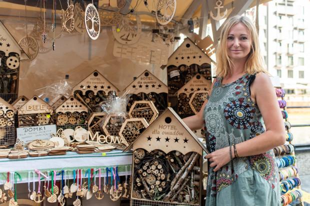 """Grand Prix w kategorii """"Dobry Pomysł"""" trafiło do firmy Redpointgdansk Monika Rajchert z Gdańska za domki dla dzikich owadów zapylających."""