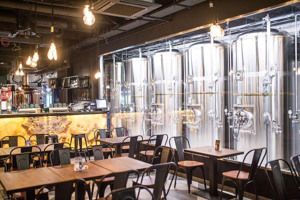 W Piwnicy Rajców znajduje się specjalna ściana piwna, czyli elektroniczny panel z kranami, gdzie za pomocą karty prepaid można opłacić i nalać sobie samodzielnie trunek. Oczywiście piwo można też zamówić przy barze.