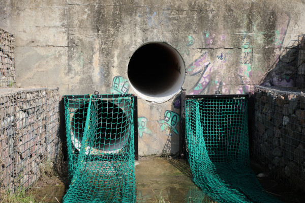 Siatki mają 4 metry długości, różnią się wielkością oczek, co ma zwiększyć bezpieczeństwo żyjących w potoku ryb.