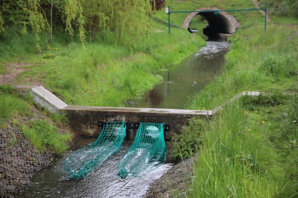 Pierwsze pułapki na śmieci zamontowano w maju na potoku Strzyża.