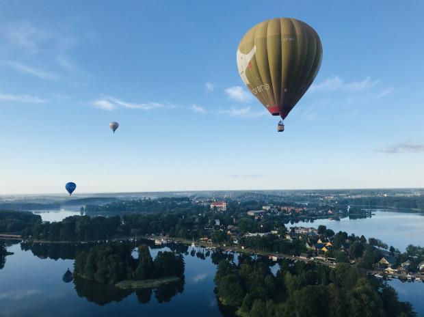 Wilno jest jedną z niewielu stolic państw świata, po którym można polatać balonem.