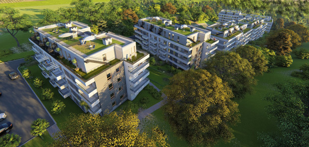 Mieszkań z dużymi tarasami w Trójmieście przybywa. Deweloperzy znają preferencje klientów i realizują coraz więcej osiedli, które duże tarasy mają nawet na dachu budynku.