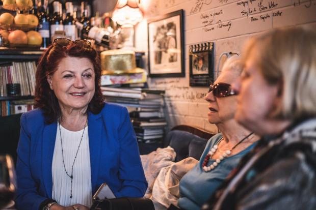 Cafe Klaps odwiedzają znani artyści, m.in. Urszula Dudziak.
