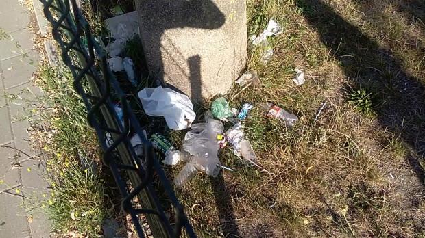 Miała być rewitalizacja skweru - jest śmietnisko - narzekają mieszkańcy okolicy Styp-Rekowskiego.