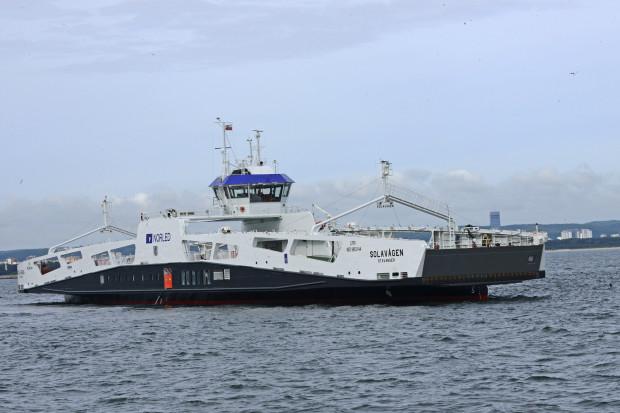 Solavågen jest jednym z czterech budowanych przez Remontowa Shipbuilding statków dla jednego z największych operatorów promowych w Norwegii.