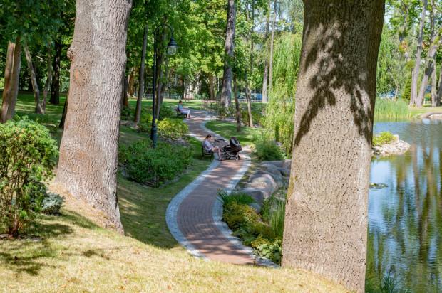 Park w Orłowie Quadrille.