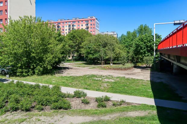 Park przy estakadzie Kwiatkowskiego