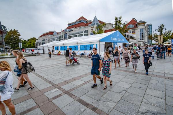 Na zdjęciu: Literacki Sopot 2019, edycja brytyjska. W tym roku festiwal się odbędzie, choć musimy przygotować się na zmiany, m.in. lokalizacji.