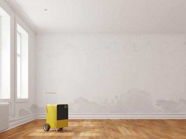 Osuszanie kondensacyjne to jedna z najczęściej stosowanych technik, gdy wodą nasiąknięte są mury i podłogi.