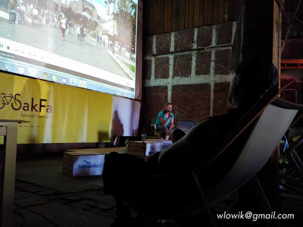 Na festiwal rowerowy SakFa przybyli goście z całej Polski.