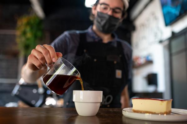 Napijemy się tu dobrej kawy z różnych stron świata.