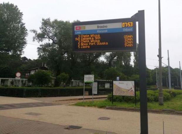 Tak prezentują się tablice informacji pasażerskiej, które można obecnie spotkać na gdańskich przystankach.