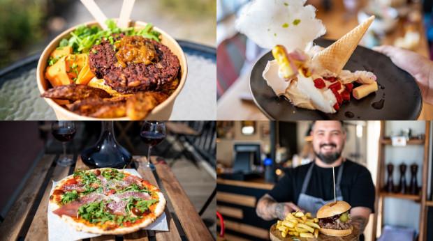 W tym cyklu odwiedzamy kawiarnię na Dolnym Mieście, a następnie przenosimy się na Zaspę na ulicę Franciszka Hynka, gdzie znajdziemy małe zagłębie kulinarne.