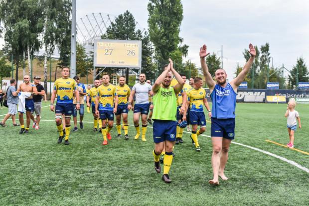 Rugbiści Arki Gdynia na wygraną w ekstralidze czekali blisko 2 lata.