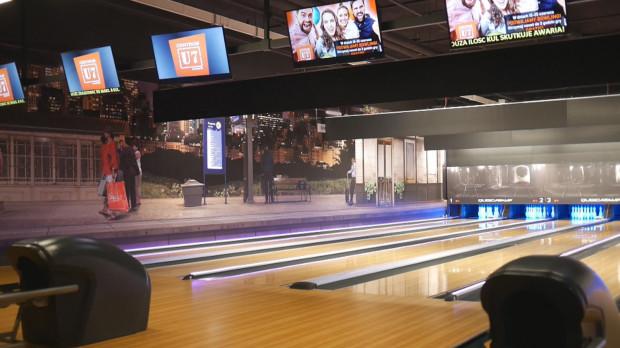 Centrum U7 Wrzeszcz dysponuje aż 17 torami bowlingowymi.