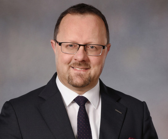 Michał Habina od kilku lat jest prezesem Gdańskiej Stoczni Remontowa.