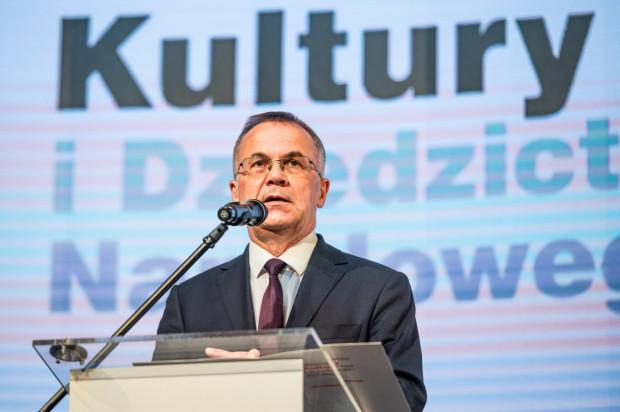 Jarosław Sellin, wiceminister Kultury i Dziedzictwa Narodowego.