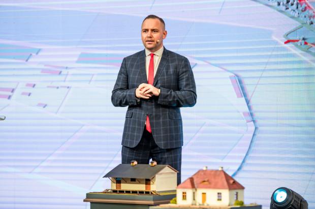 Dr Karol Nawrocki, dyrektor Muzeum II Wojny Światowej w Gdańsku.