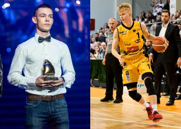 Zarówno Mateusz Kaszowski z Asseco Arki Gdynia (z lewej) i Łukasz Kolenda z Trefla Sopot (z prawej) mogą liczyć na najczęstsze występy w najbliższym sezonie Energa Basket Ligi.