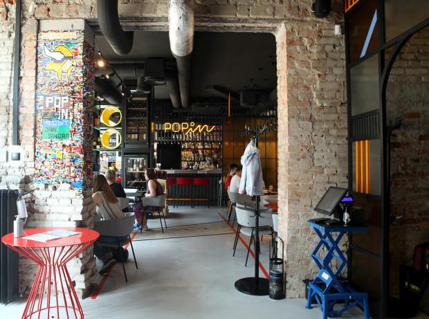 Restauracja Pop In w Gdyni.