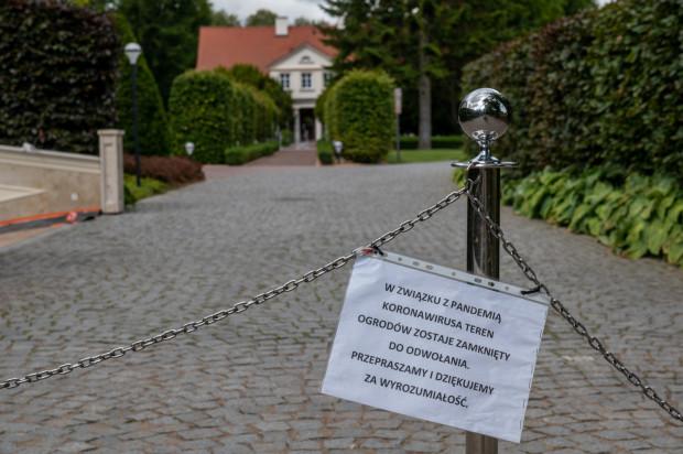 Ogrody Doraco są zamknięte do odwołania. Chodzi m.in. o bezpieczeństwo dzieci z przedszkola na ich terenie.