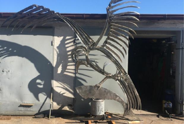 Rzeźba została zakupiona przez miasto za kwotę 36 tys. zł po wystawie w 2018 r.