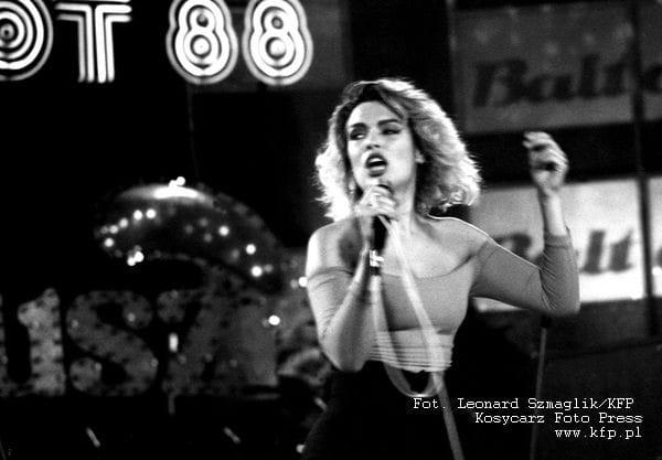 Kim Wilde, XXV Miedzynarodowy Festiwal Piosenki w Sopocie, 1988 rok.