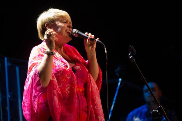 Krystyna Stańko podczas koncertu Głosy Dla Hospicjów w 2019 roku.