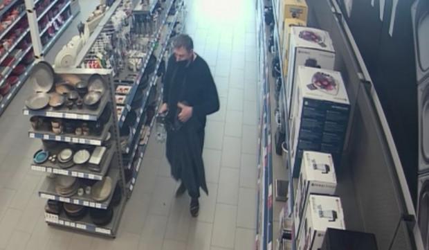 Mężczyzna poszukiwany w związku z kradzieżą blendera.