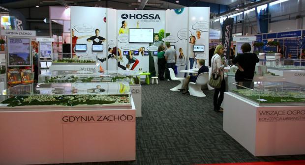 Hossa przyciągała uwagę zwiedzających dużą ilością makiet, które lepiej niż jakiekolwiek wizualizacje, przedstawiają plany inwestora.