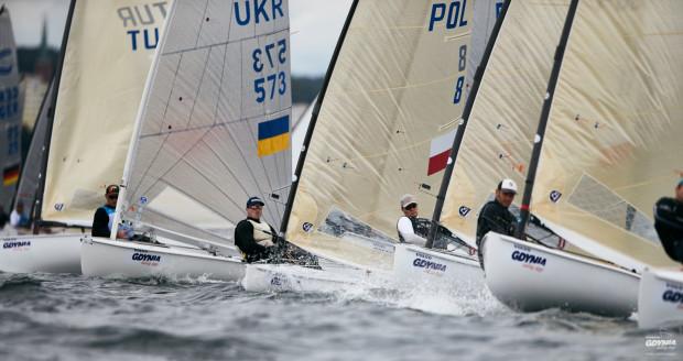 Żeglarze z 27 państw w ramach Volvo Gdynia Sailing Days rozegrają mistrzostwa europy w klasie Finn.