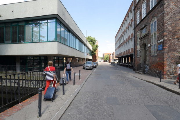 Ulica Elżbietańska w Gdańsku zostanie wyremontowana do końca roku.