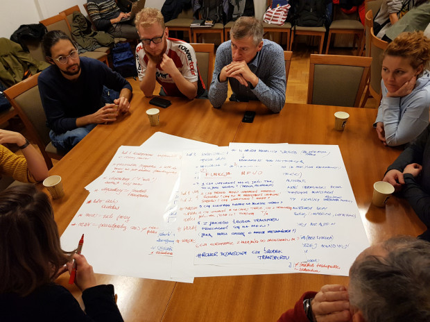 W ramach przygotowania systemu Mevo 2.0 odbyły się m.in. warsztaty z mieszkańcami.