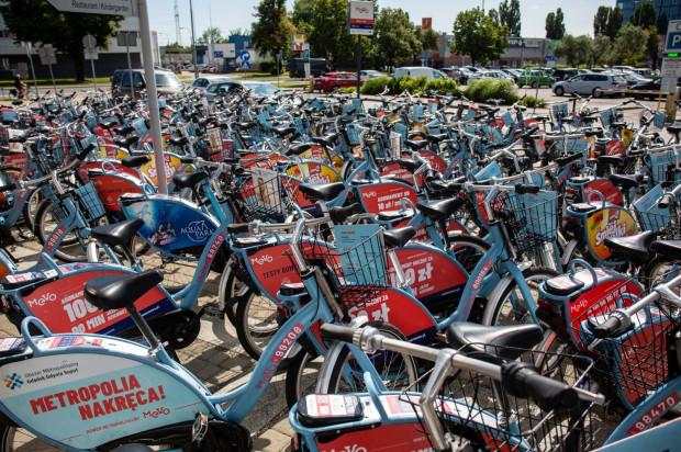 Z rowerów Mevo mieszkańcy mogli cieszyć się tylko kilka miesięcy.