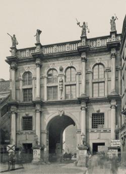Złota Brama, ok 1900 roku.