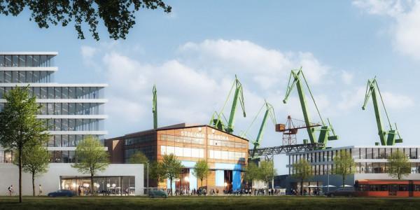 Widok na halę jest chroniony zapisami w miejscowym planie zagospodarowania przestrzennego. W przyszłości przed halą powstanie miejski plac.