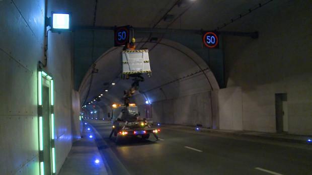Niewykluczone, że wkrótce policja i GZDiZ przywróci w tunelu pierwotną maksymalną dopuszczalną prędkość - 50 km/h.