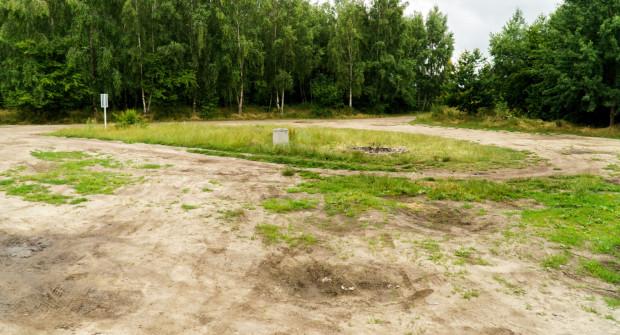 Polana na Oksywiu, która będzie zrewitalizowana.