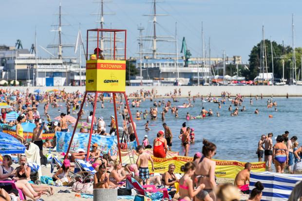 W Gdyni od 1998 r. nie doszło do utonięcia. Ratownicy kolejny sezon zaliczają do udanych.