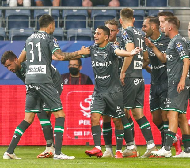 Omran Haydary i Flavio Paixao strzelali gole dla Lechii Gdańsk w sparingu w Płocku już w pierwszej kwarcie.