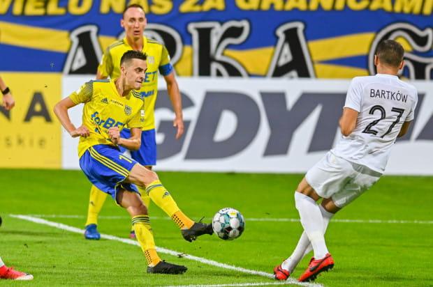 Logo Gdynia pozostało m.in. na koszulkach meczowych i bandach reklamowych na stadionie. Miasto za promocję w drugim półroczu zapłaciło Arce Gdynia 4 mln zł.