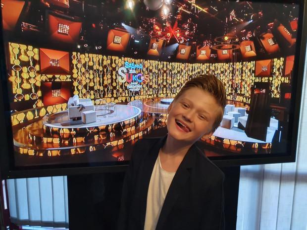 Młody gdynianin występuje w programie Szansa na Sukces Eurowizja Junior 2020.