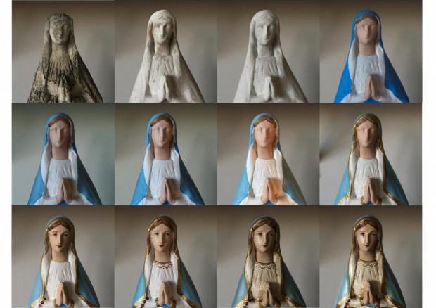 Odnawianiem figur Matki Boskiej i nie tylko zajmuję się od około sześciu lat. Mam na myśli także figury innych świętych, czy wizerunki Jezusa - opowiada Paulina Mazur.