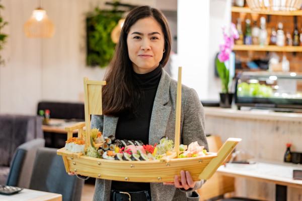 Janet Fiore - manager restauracji Ume Sushi.